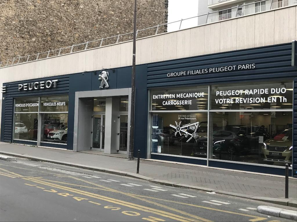 Peugeot psa retail paris grenelle concessionnaire garage for Garage automobile ouvert