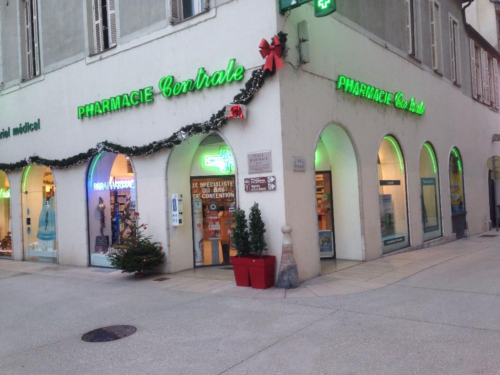 pharmacie centrale pharmacie 1 rue berbisey 21000 dijon adresse horaire. Black Bedroom Furniture Sets. Home Design Ideas