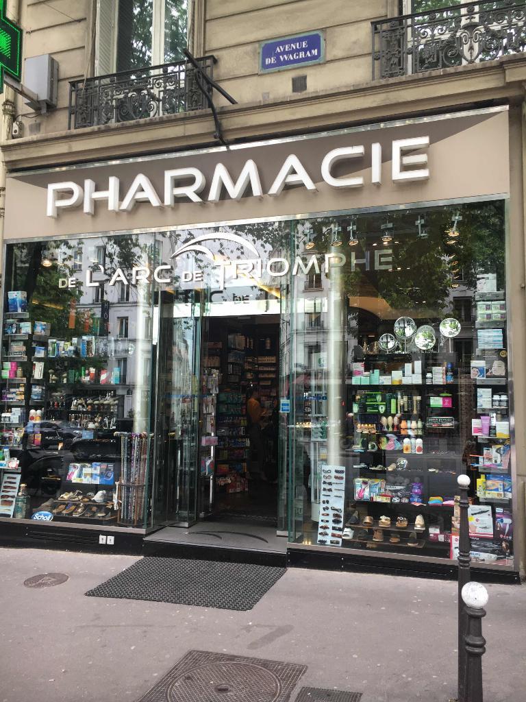 Pharmacie De L U0026 39 Arc De Triomphe