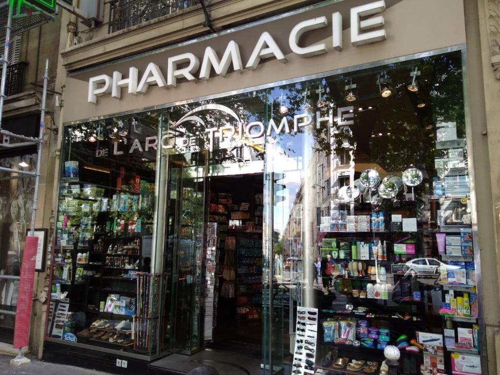 pharmacie de l 39 arc de triomphe pharmacie 10 avenue wagram 75008 paris adresse horaire. Black Bedroom Furniture Sets. Home Design Ideas