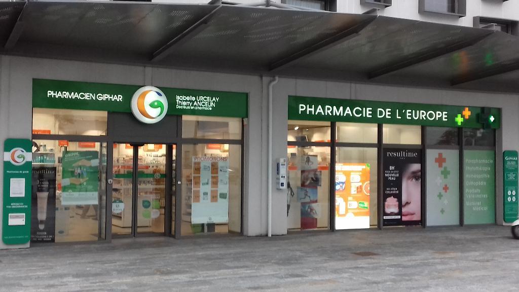 pharmacie de l 39 europe pharmacie 3 boulevard de cascais 64200 biarritz adresse horaire. Black Bedroom Furniture Sets. Home Design Ideas