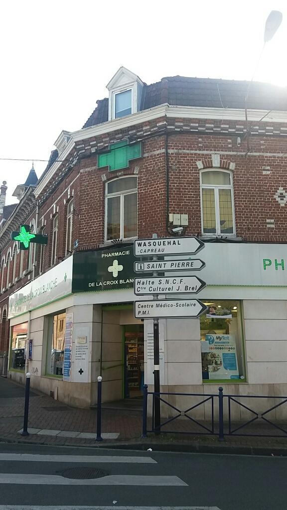 pharmacie de la croix blanche pharmacie 235 rue jean jaur s 59170 croix adresse horaire. Black Bedroom Furniture Sets. Home Design Ideas