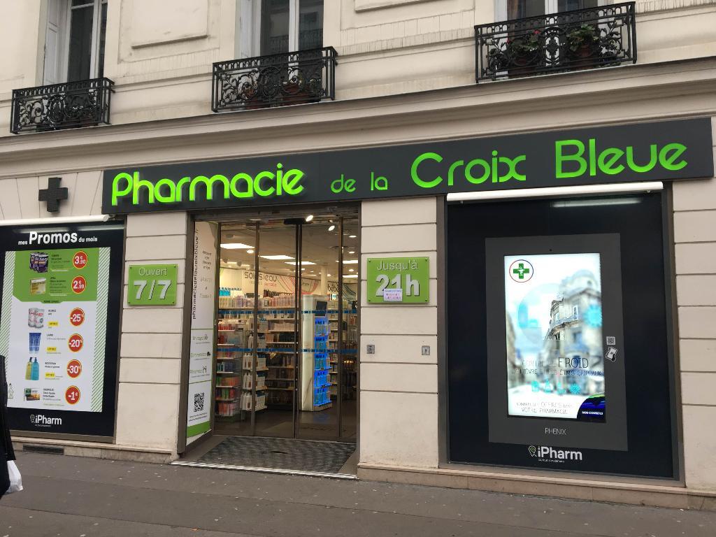 Pharmacie De La Croix Bleue