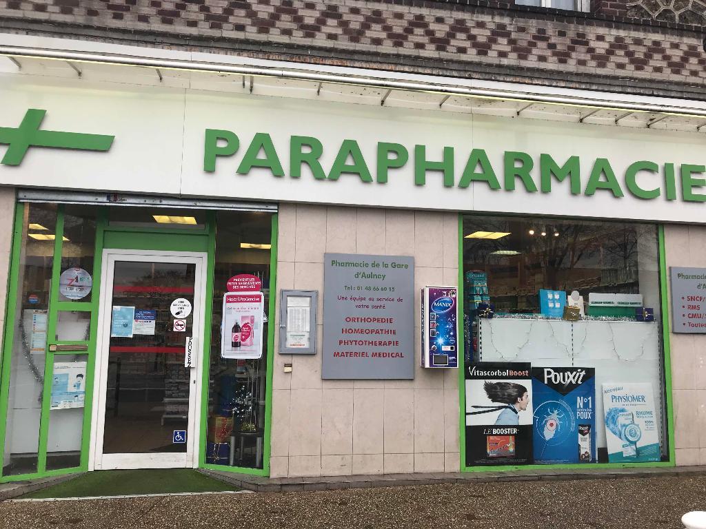 Pharmacie de la gare d aulnay pharmacie 10 boulevard for Garage tour eiffel rue marcel sembat aulnay sous bois