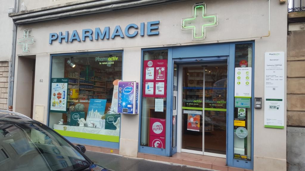 Pharmacie de medreville st pharmacie 82 rue laxou 54000 for Pharmacie de la piscine