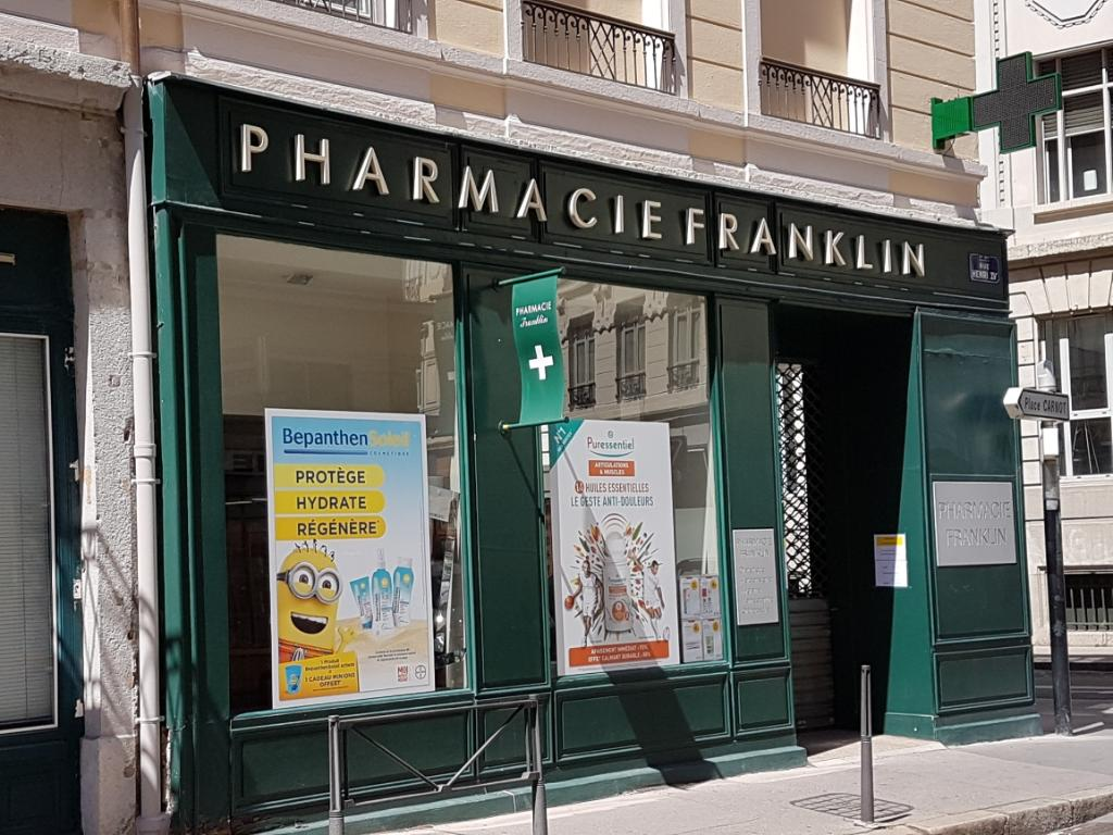 Pharmacie franklin pharmacie 22 rue franklin 69002 lyon for Garage ouvert lyon
