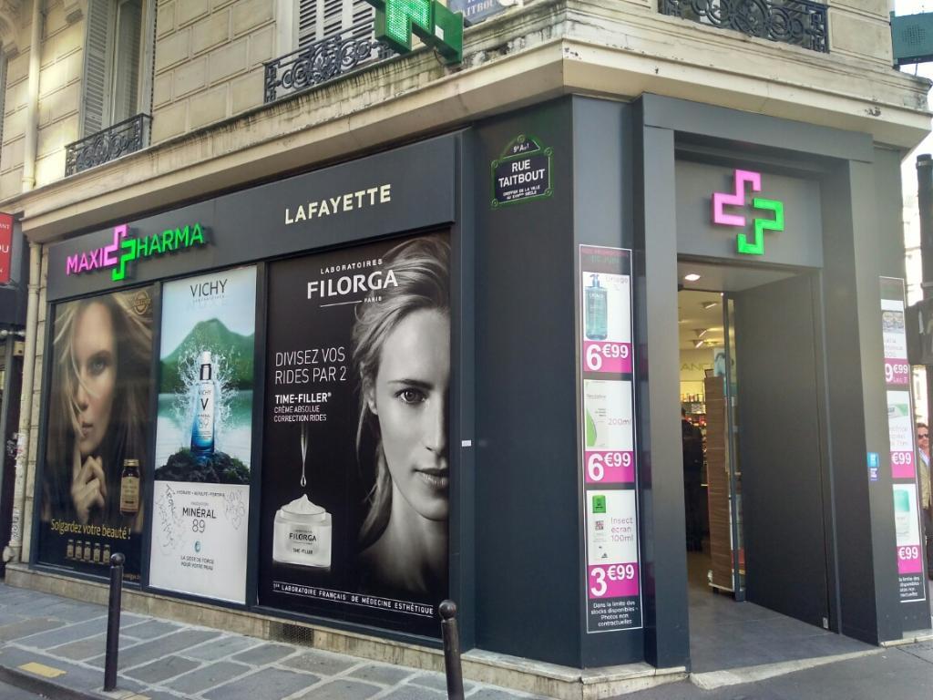 pharmacie lafayette pharmacie 11 rue la fayette 75009 paris adresse horaire. Black Bedroom Furniture Sets. Home Design Ideas