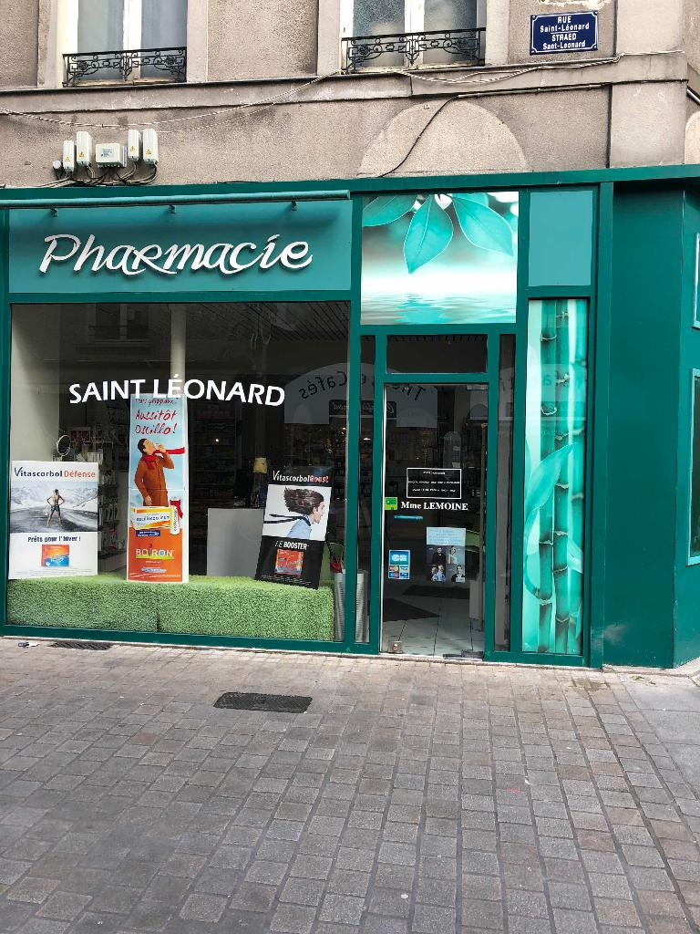 pharmacie saint l onard pharmacie 6 rue trois croissants 44000 nantes adresse horaire. Black Bedroom Furniture Sets. Home Design Ideas