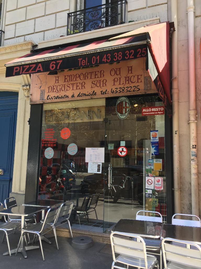 Pizza restaurant 67 boulevard voltaire 75011 paris for Garage oberkampf parking