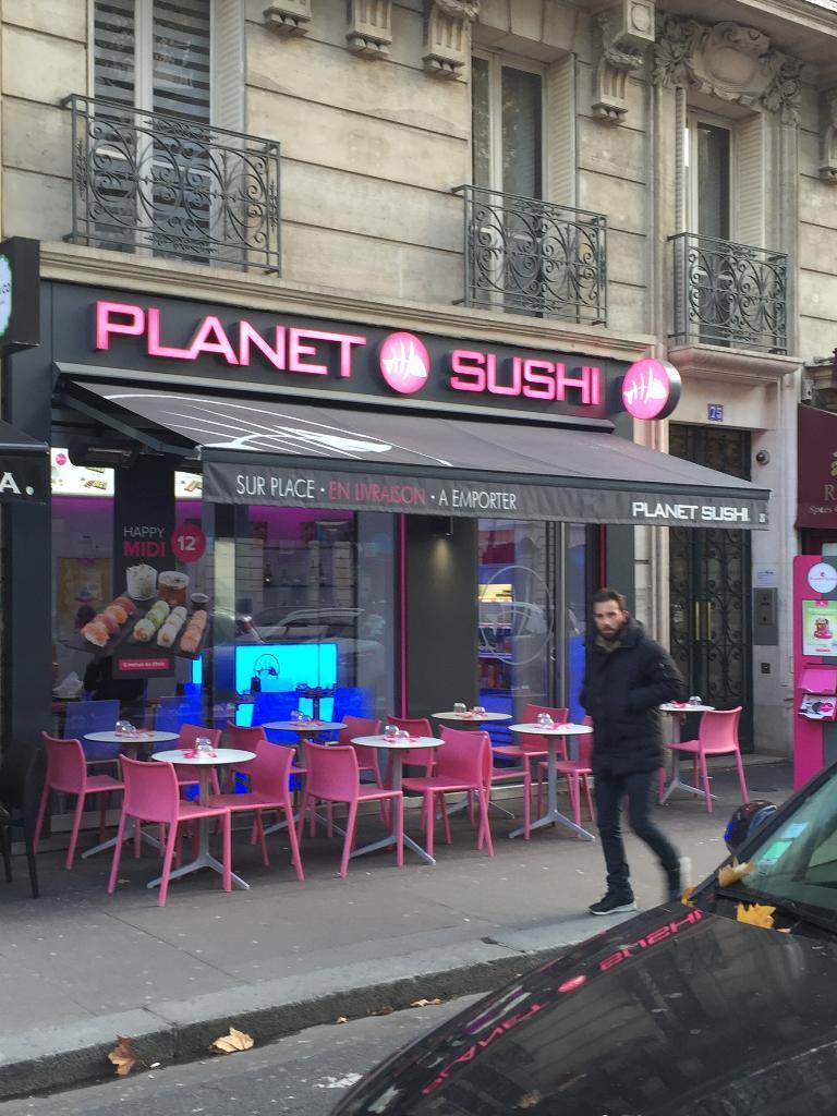 planet sushi restaurant 75 avenue kl ber 75016 paris adresse horaire. Black Bedroom Furniture Sets. Home Design Ideas
