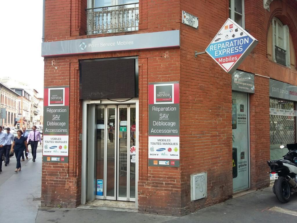 point service mobiles vente de t l phonie 62 boulevard lazare carnot 31000 toulouse adresse. Black Bedroom Furniture Sets. Home Design Ideas