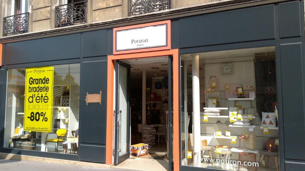 potiron magasin de meubles 5 rue gay lussac 75005 paris. Black Bedroom Furniture Sets. Home Design Ideas