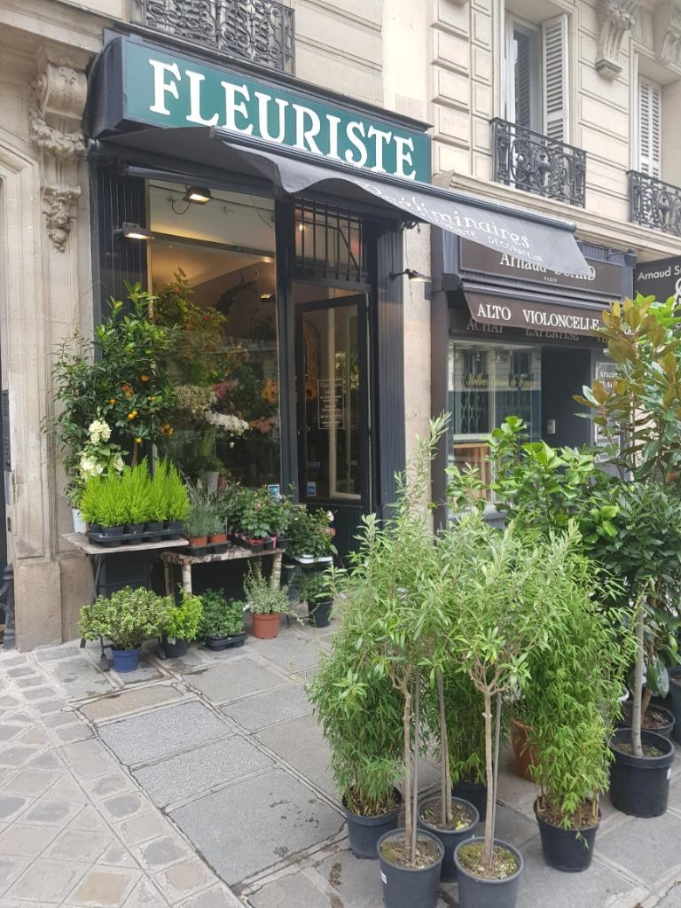 Pr liminaires fleuriste fleuriste 56 rue de rome 75008 for Adresse fleuriste