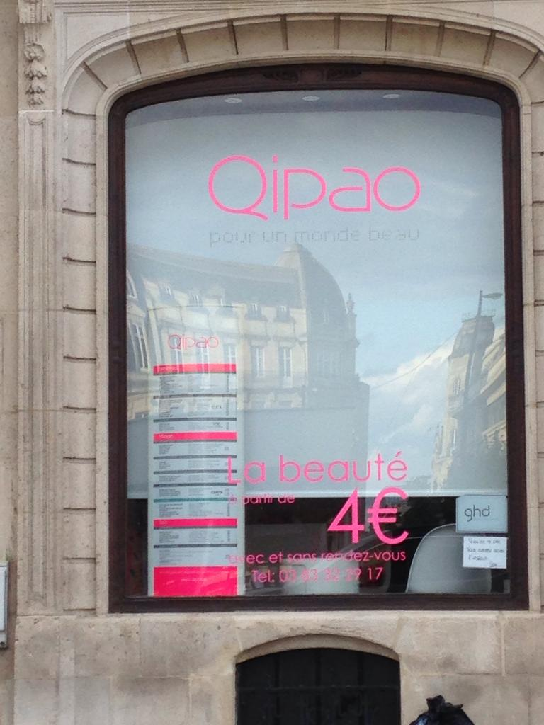 Qipao institut de beaut 4 rue raymond poincar 54000 for Rue catherine opalinska nancy
