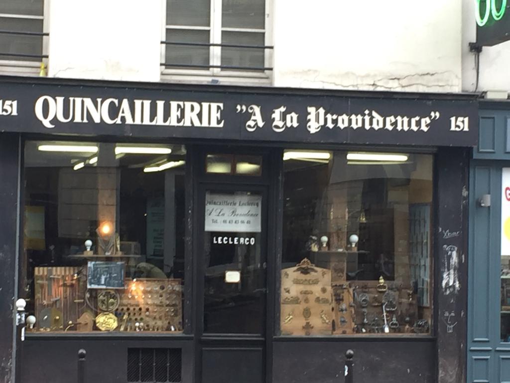 Quincaillerie leclercq a la providence quincaillerie pour b timent et ameublement 151 rue - Quincaillerie paris 15 ...