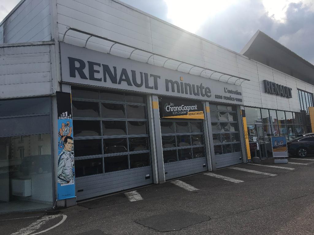 Renault minute soci t de distribution automobile lunevilloise centre autos et entretien - Garage renault sarrebourg ...