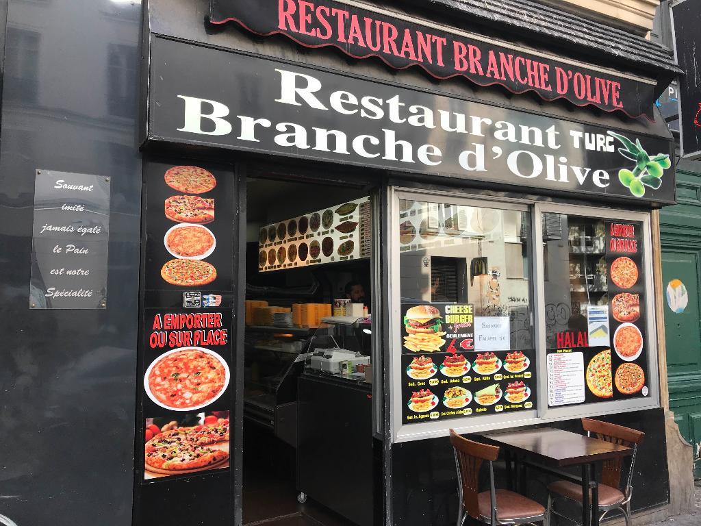 restaurant branche d 39 olive restaurant 160 rue oberkampf. Black Bedroom Furniture Sets. Home Design Ideas