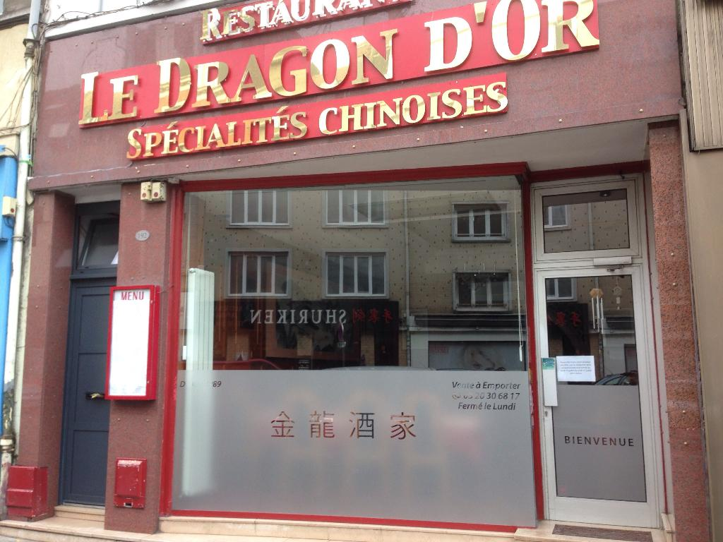 restaurant chinois le dragon d 39 or restaurant 192 rue de solf rino 59000 lille adresse horaire. Black Bedroom Furniture Sets. Home Design Ideas