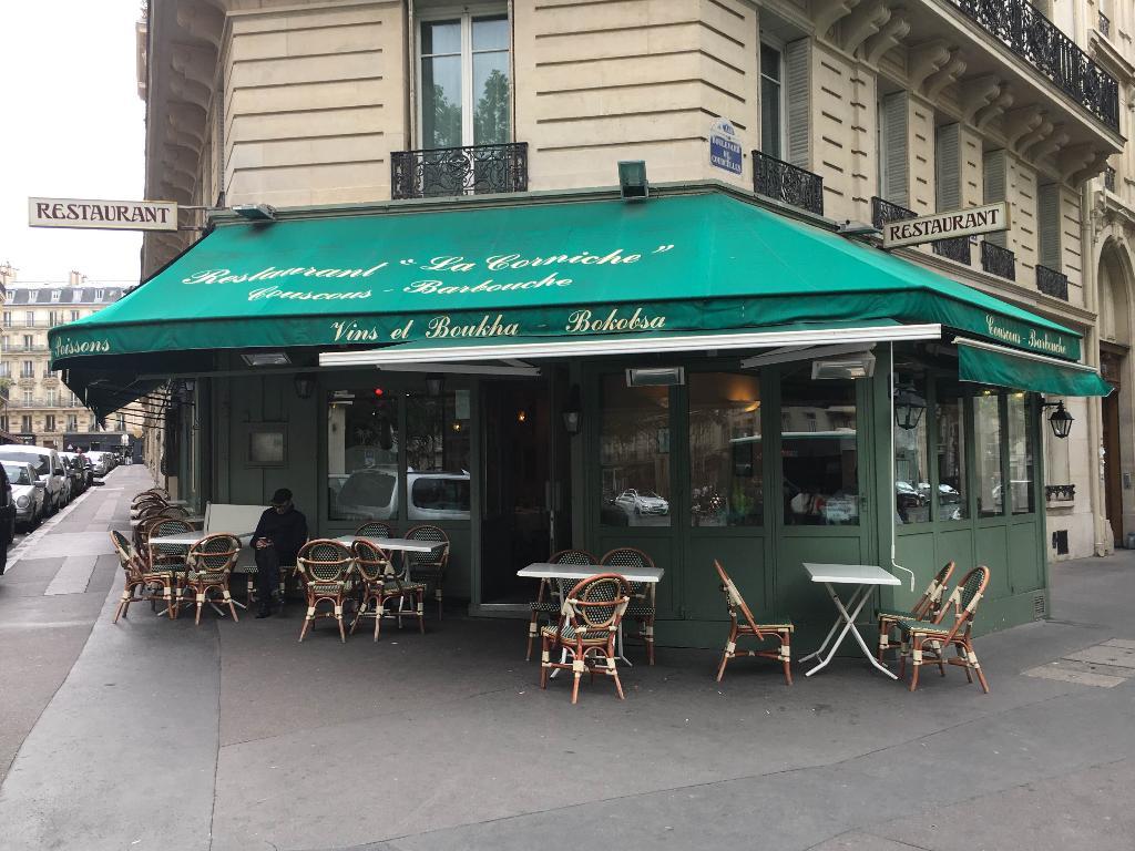 La Corniche Restaurant 77 Boulevard Courcelles 75008