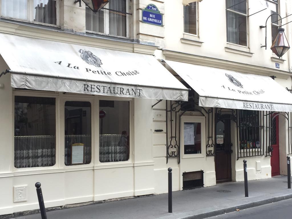 restaurant la petite chaise restaurant 36 rue grenelle 75007 paris adresse horaire. Black Bedroom Furniture Sets. Home Design Ideas