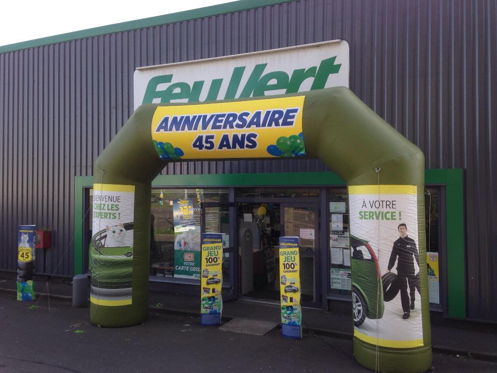 Feu vert reydel garage automobile parc porte nord 62700 - Cinema bruay la buissiere porte nord ...
