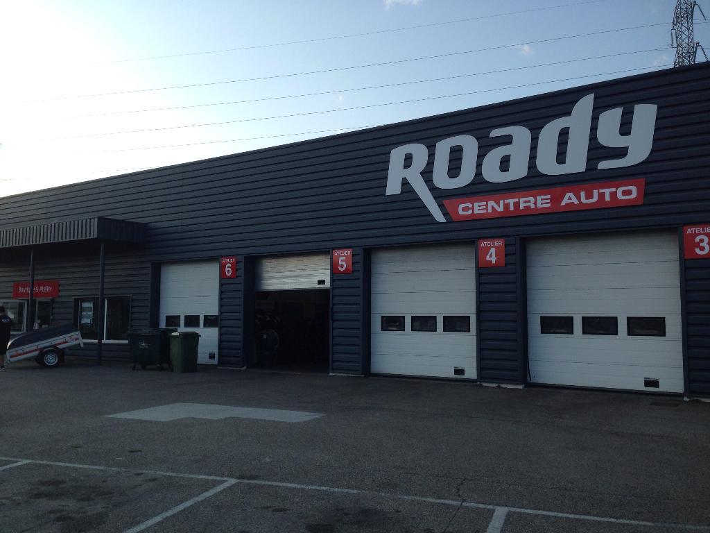 Roady garage automobile parc soleil 38150 chanas for Garage auto lyon 6