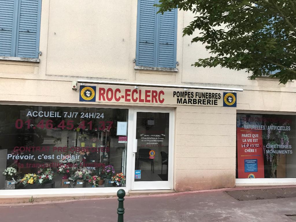 Roc eclerc pompes fun bres 5 rue de l 39 eglise 92140 - 157 rue de la porte de trivaux 92140 clamart ...