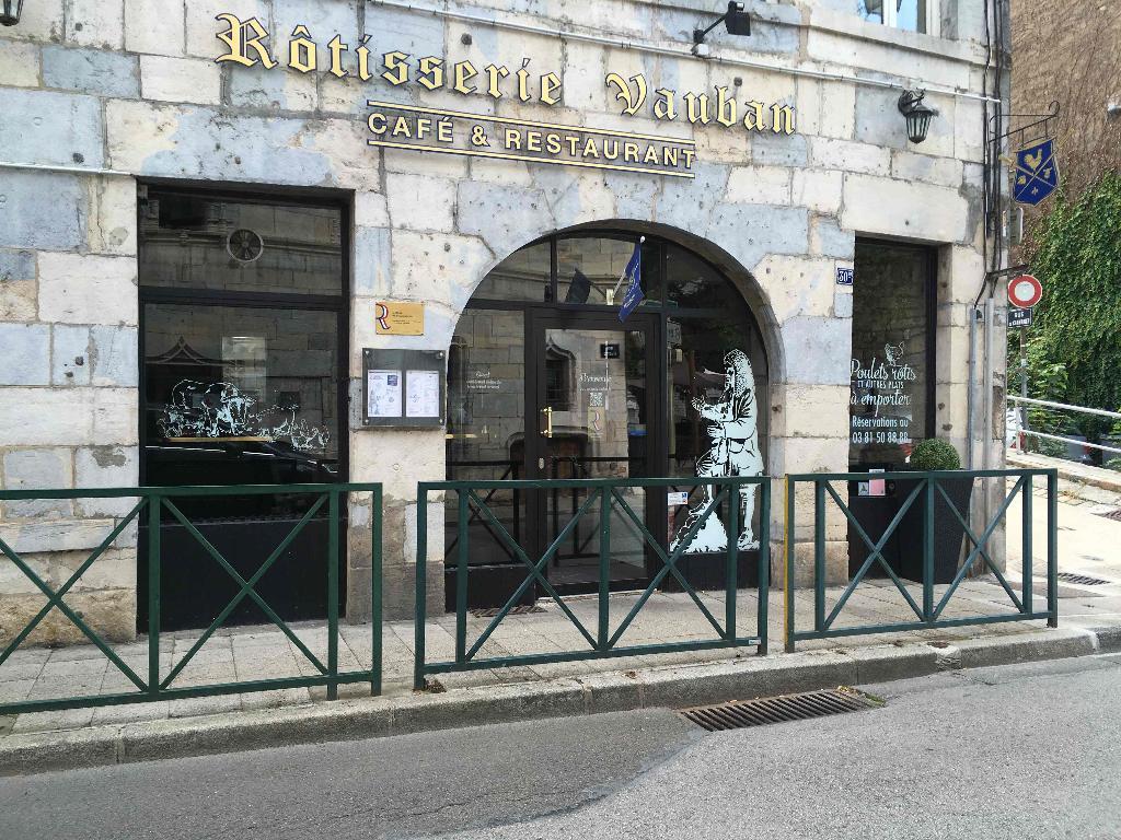 Rotisserie vauban restaurant 30 bis rue rivotte 25000 besan on adresse horaire - Restaurant la grange besancon ...