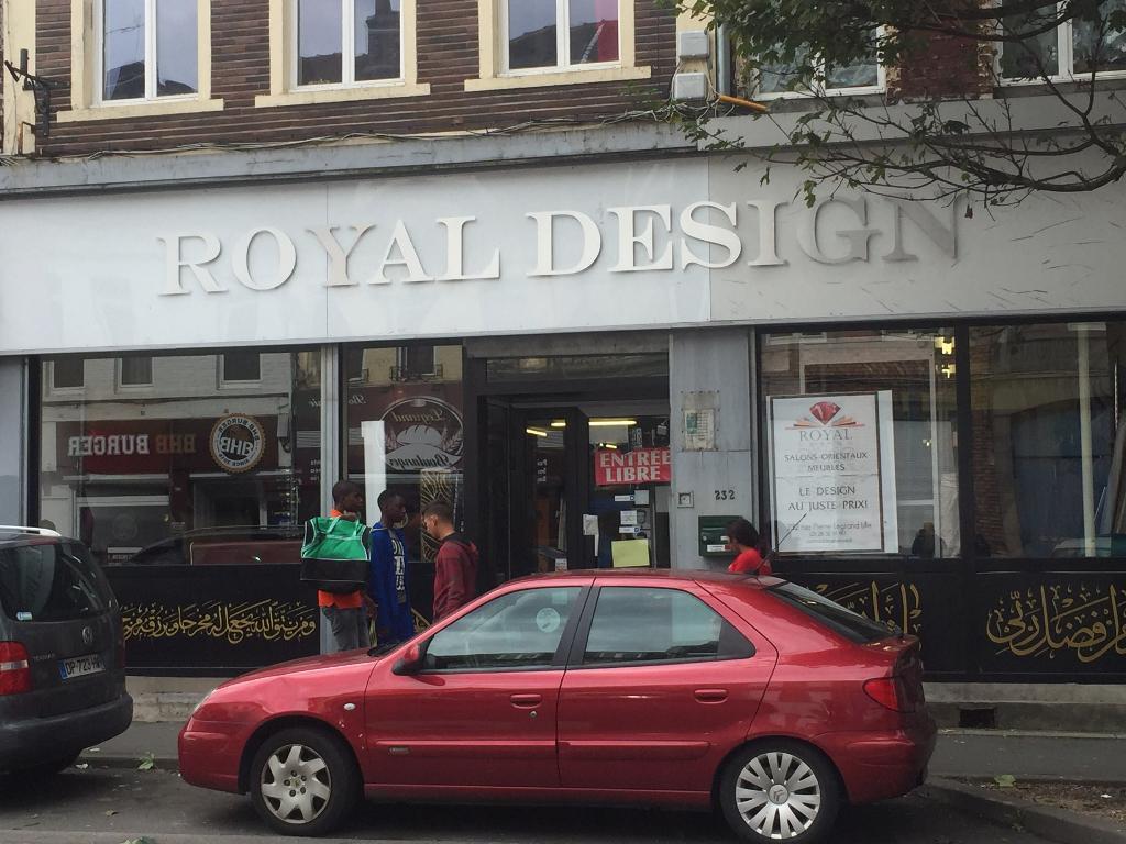 Royal design magasin de meubles 232 rue pierre legrand 59000 lille adresse horaire - Magasin meuble lille rue esquermoise ...