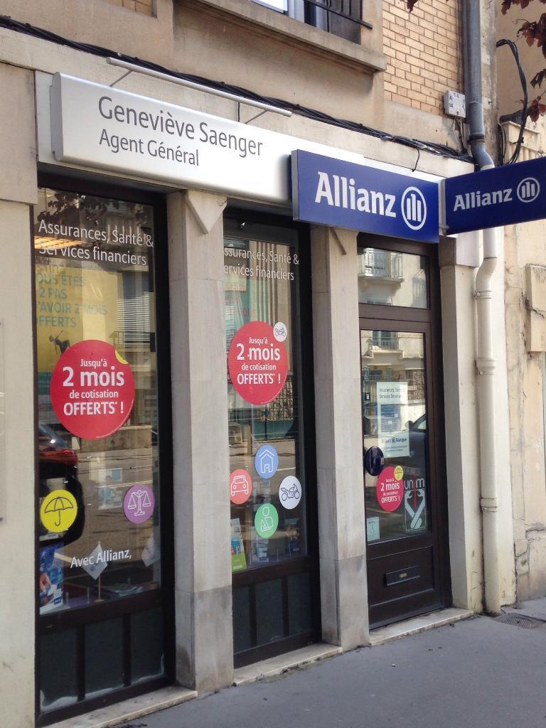 Allianz saenger genevi ve agent g n ral d 39 assurance 18 for Garage automobile laxou