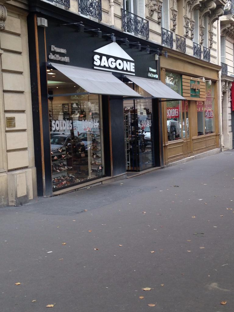 Sagone Stock Chaussures, 63 boulevard de Magenta 75010