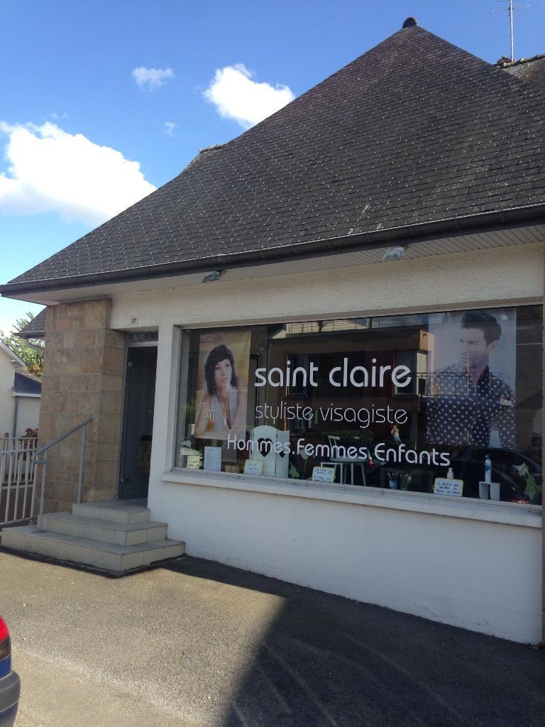 Saint Claire Coiffure Coiffeur 27 Rue Montfort 35132 Vezin Le