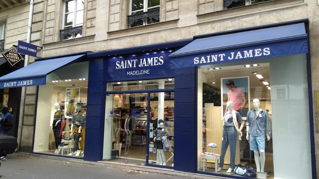 saint james boutique madeleine v tements femme 5 rue tronchet 75008 paris adresse horaire. Black Bedroom Furniture Sets. Home Design Ideas