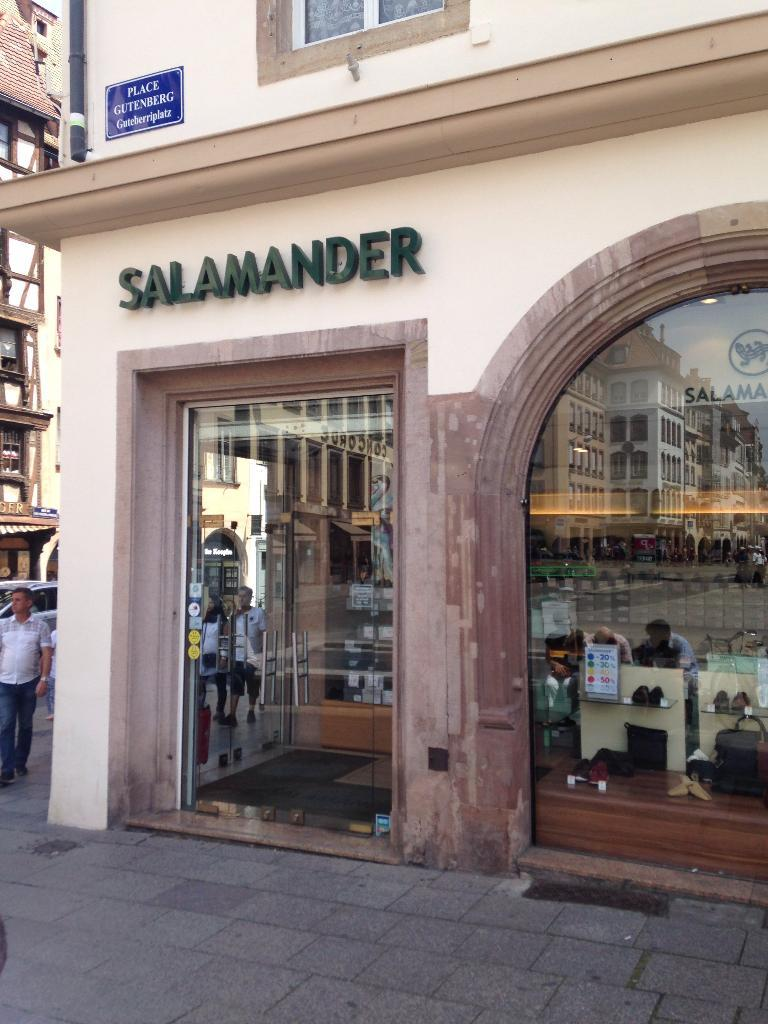 salamander chaussures 7 place gutenberg 67000 strasbourg adresse horaire. Black Bedroom Furniture Sets. Home Design Ideas