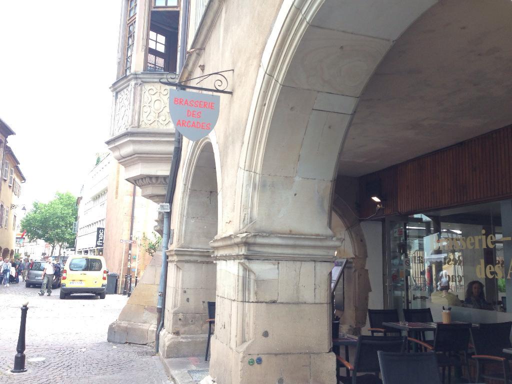 Salon de th des arcades restaurant 11 grand 39 rue 68000 - Horaire castorama colmar ...