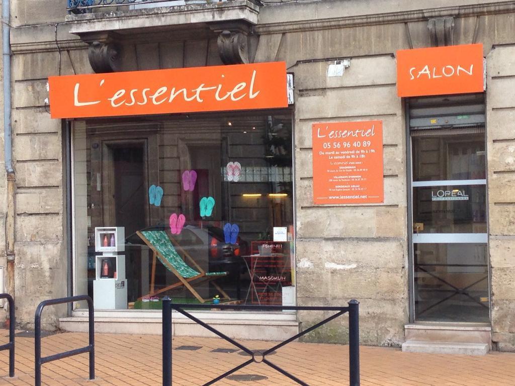 Salon l 39 essentiel coiffeur 112 rue du grand maurian 33000 bordeaux adresse horaire - Salon de coiffure l essentiel ...