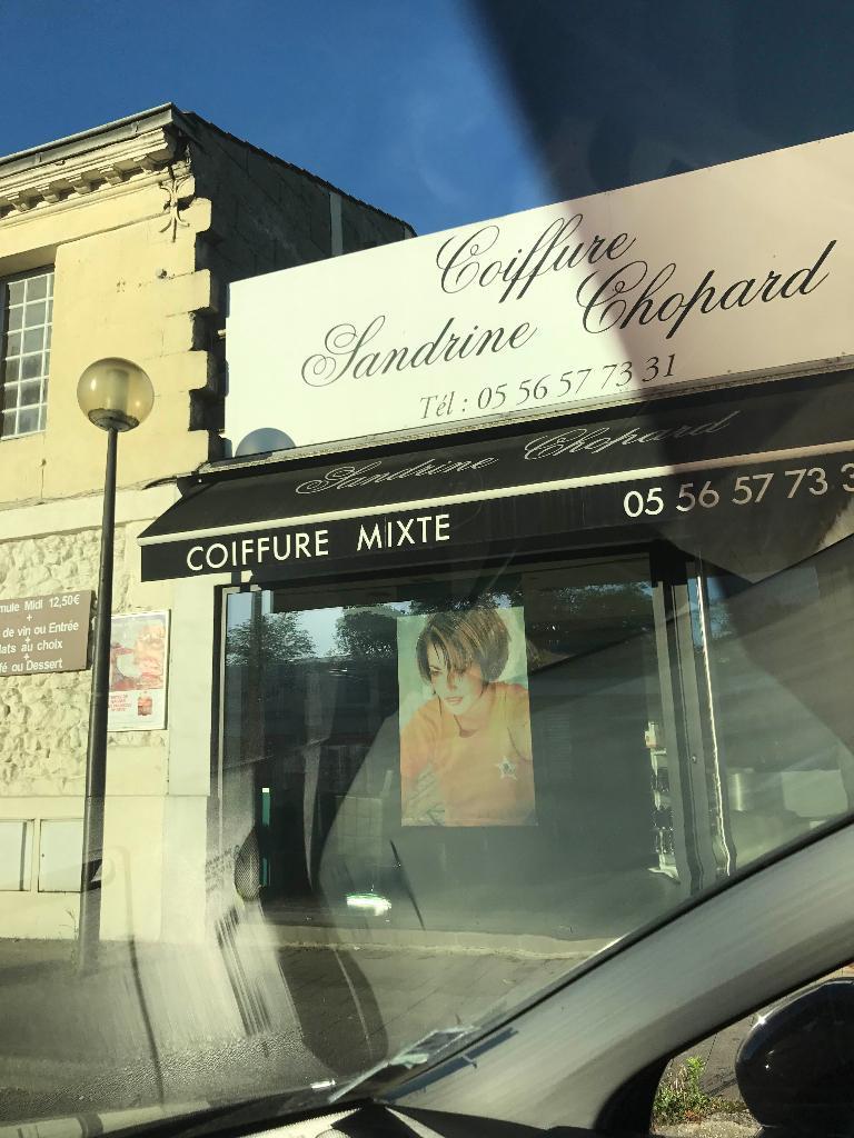 sandrine chopard coiffeur 86 avenue m doc 33320 eysines. Black Bedroom Furniture Sets. Home Design Ideas