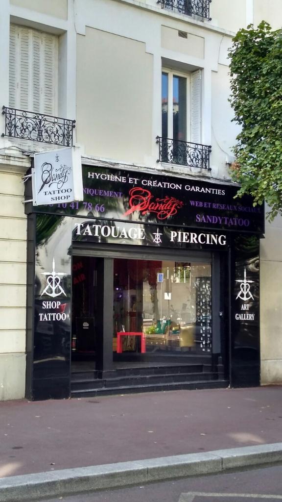 Sandytatoo tatouages 28 rue marceau 92130 issy les for Garage issy les moulineaux