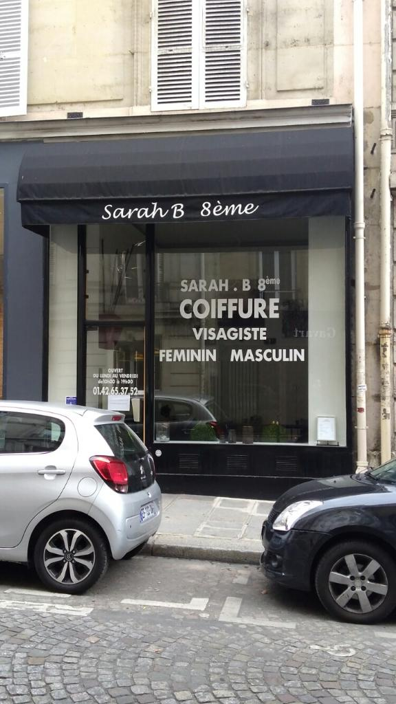 sarah b 8 me coiffeur 8 rue argenson 75008 paris adresse horaire. Black Bedroom Furniture Sets. Home Design Ideas