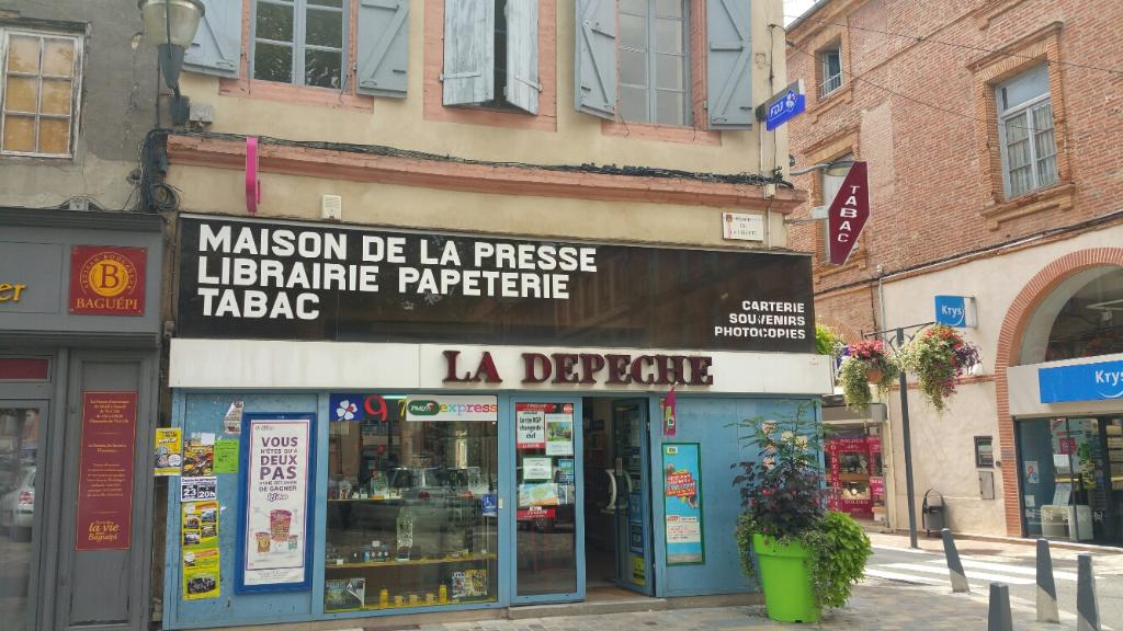 Maison de la presse bureau de tabac rue antonin delzers