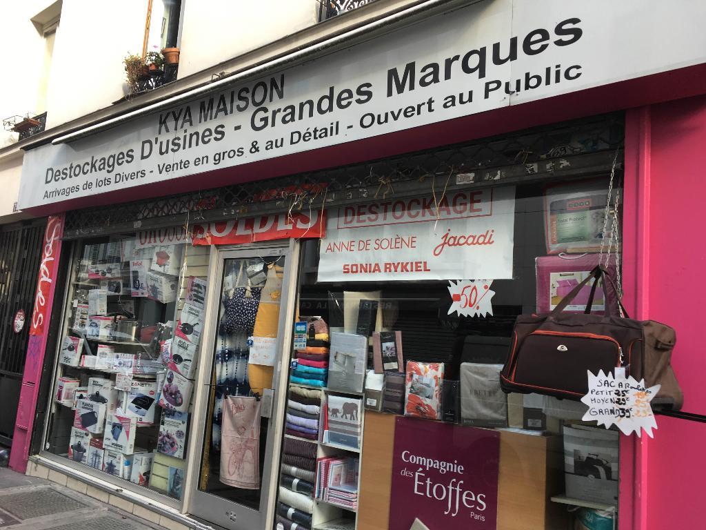 Stephane h linge de maison 75 rue roquette 75011 paris adresse horaire - Linge de maison paris ...
