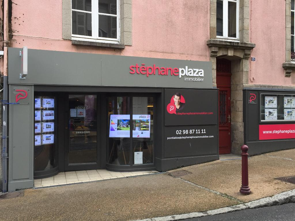 Stephane plaza immobilier agence immobili re 13 rue ch teau 29120 pont l 39 abb adresse horaire - Cabinet molina pont l abbe ...