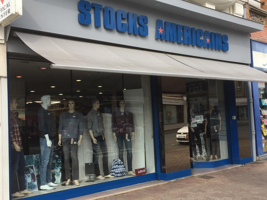Stocks am ricains v tements homme 11 bis place aristide for Magasin d artisanat cambrai