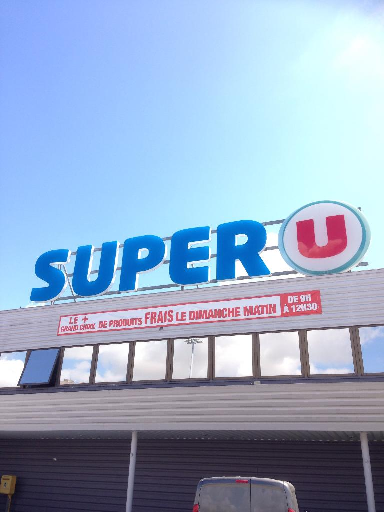 super u supermarch hypermarch 208 avenue de