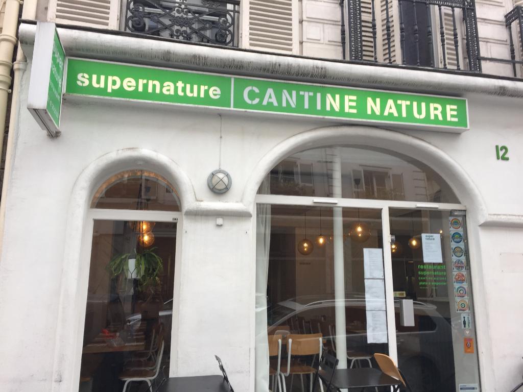 supernature restaurant 12 rue de tr vise 75009 paris adresse horaire. Black Bedroom Furniture Sets. Home Design Ideas