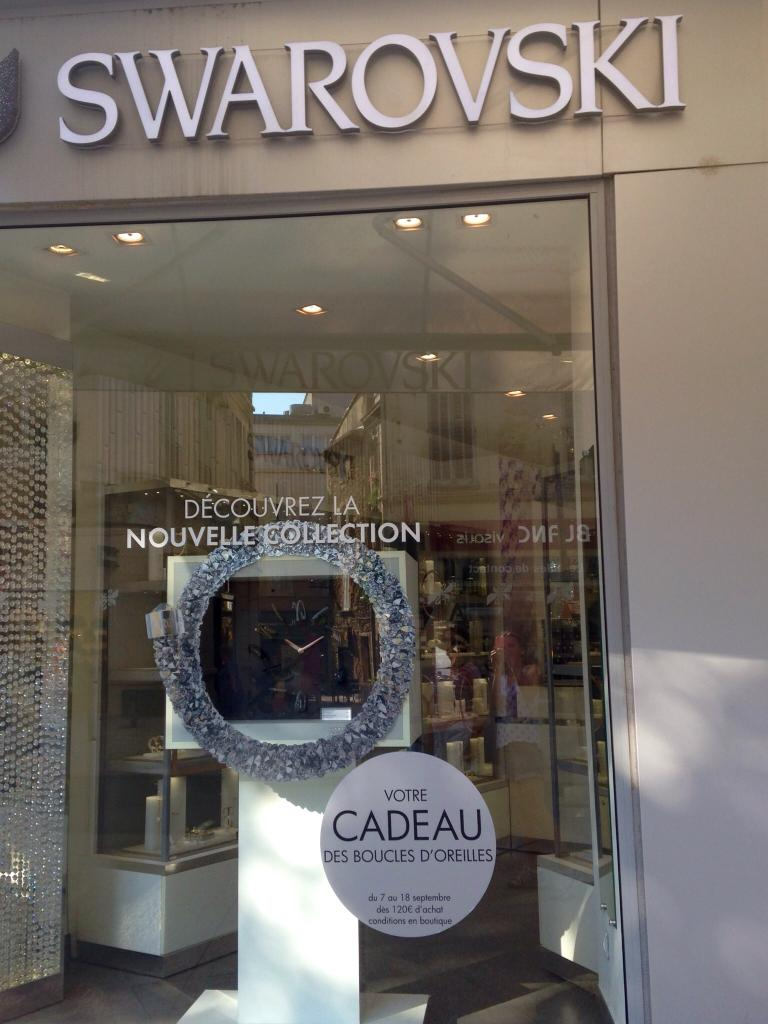 Swarovski bijoux 122 cours victor hugo 13300 salon de for Cours anglais salon de provence