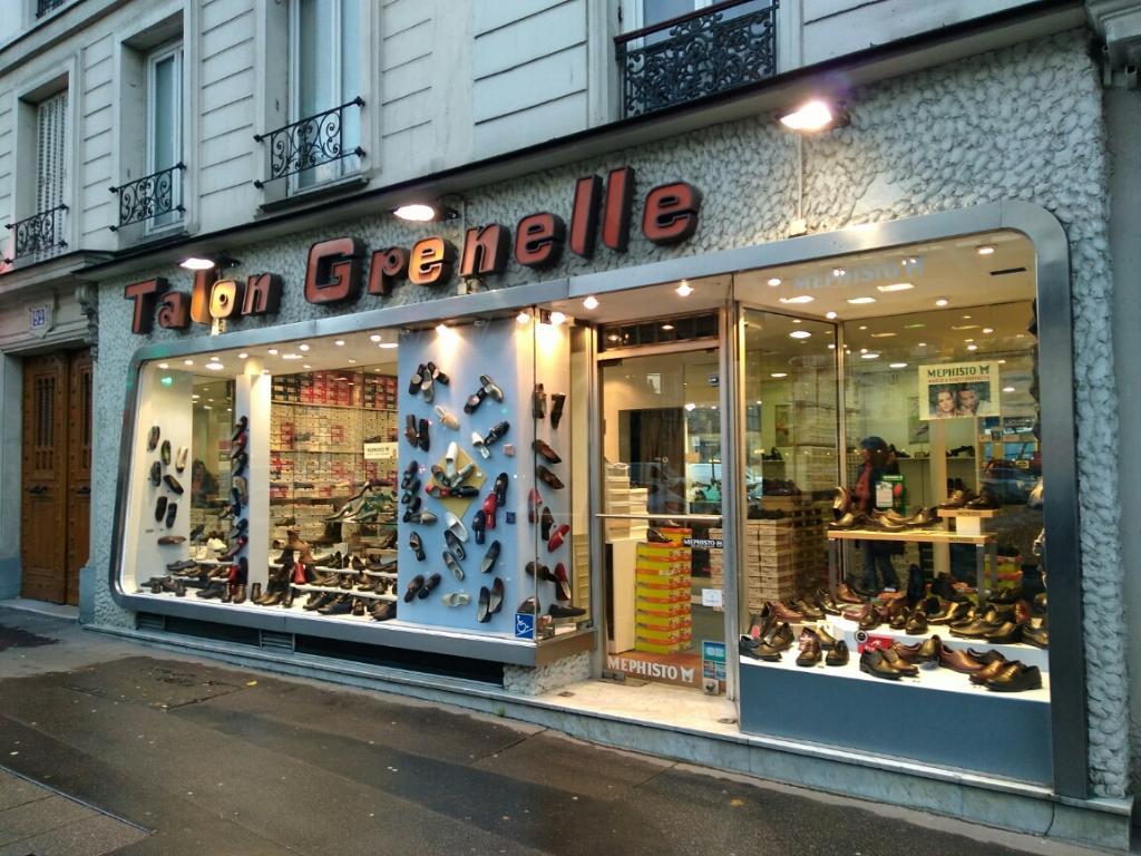 Grenelle 90 Talon boulevard 75015 Grenelle Paris Chaussures 7qndUn8A