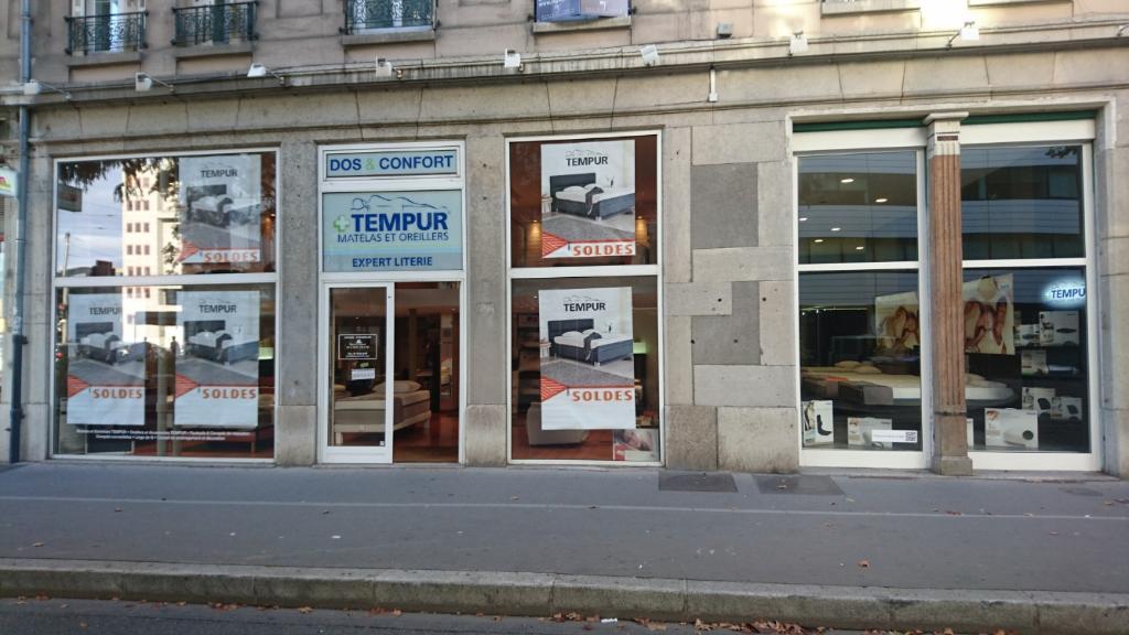 dos et confort expert tempur magasin de meubles 74 boulevard des brotteaux 69006 lyon. Black Bedroom Furniture Sets. Home Design Ideas