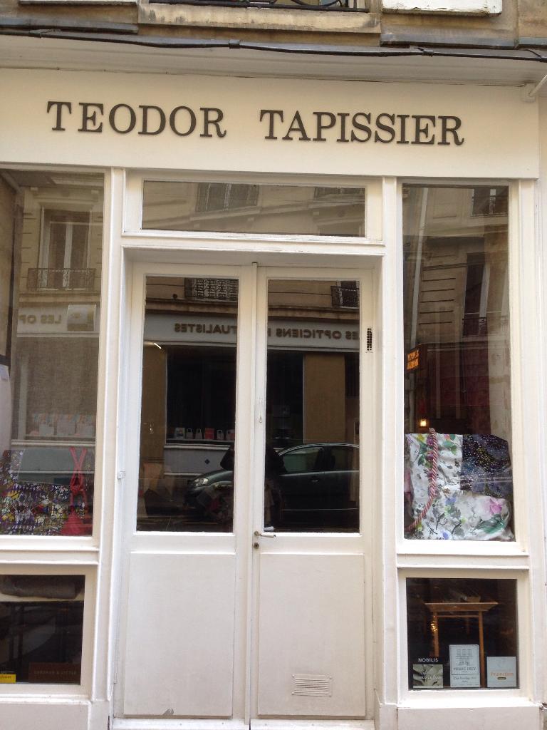 Teodor tapissier d corateur 14 rue de pontoise 75005 - Tapissier decorateur paris ...