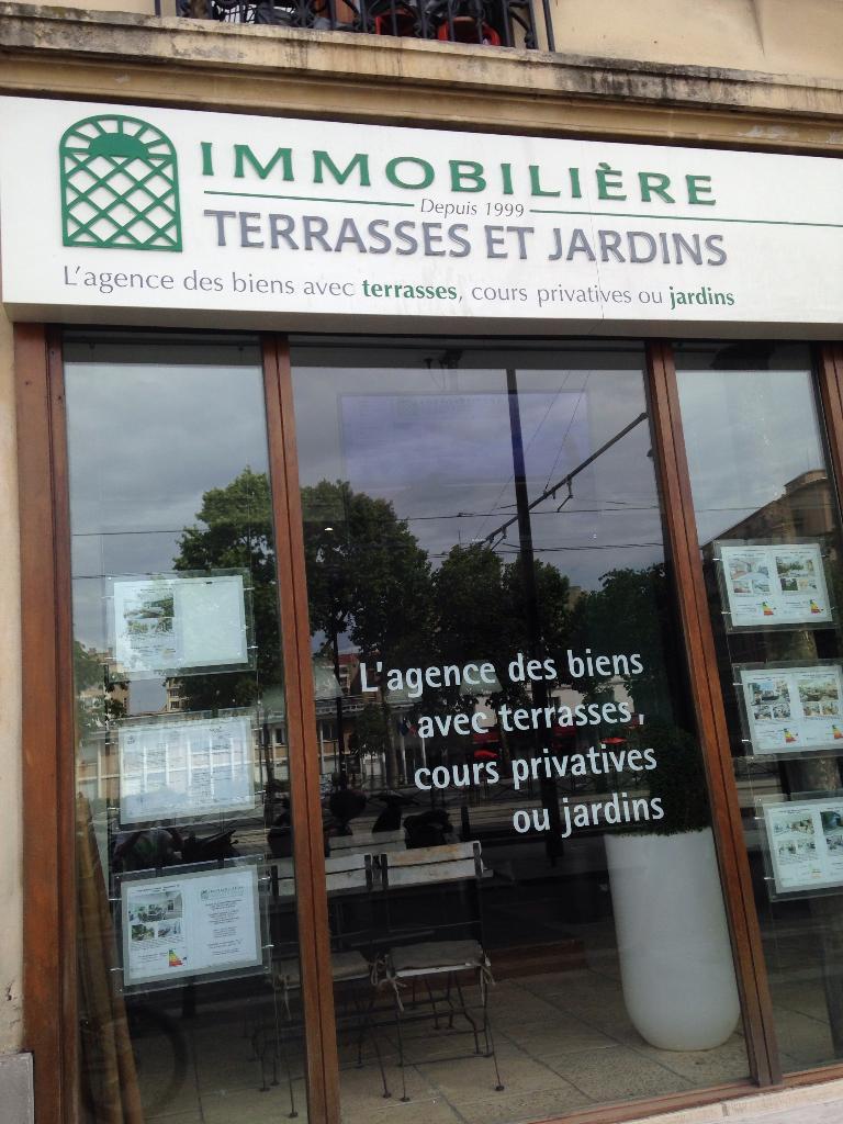 Terrasses Et Jardins Paris - Agence immobilière (adresse)